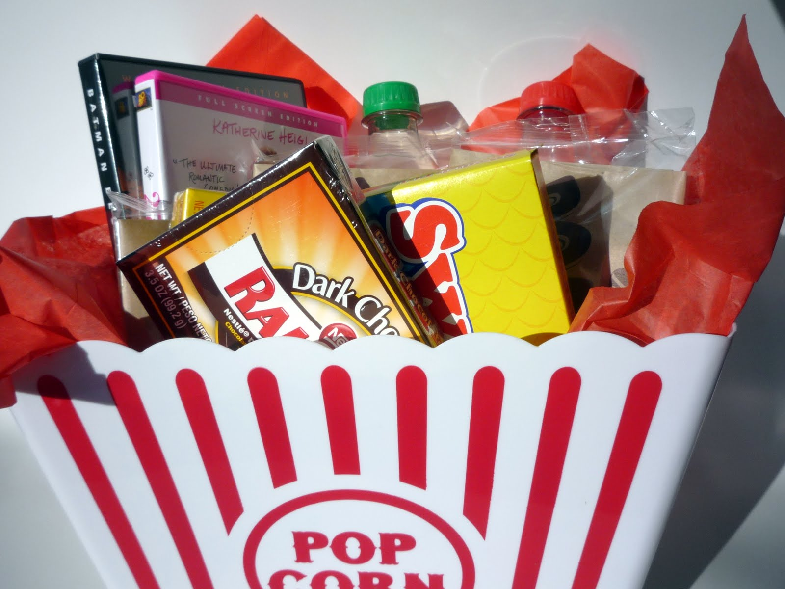 How to make a movie night gift basket eatlovedesign